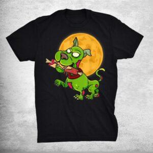 Zombie Dog Full Moon Halloween Costume Shirt