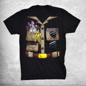 Zoo Keeper Halloween Costume Diy Jungle Safari Explorer Shirt